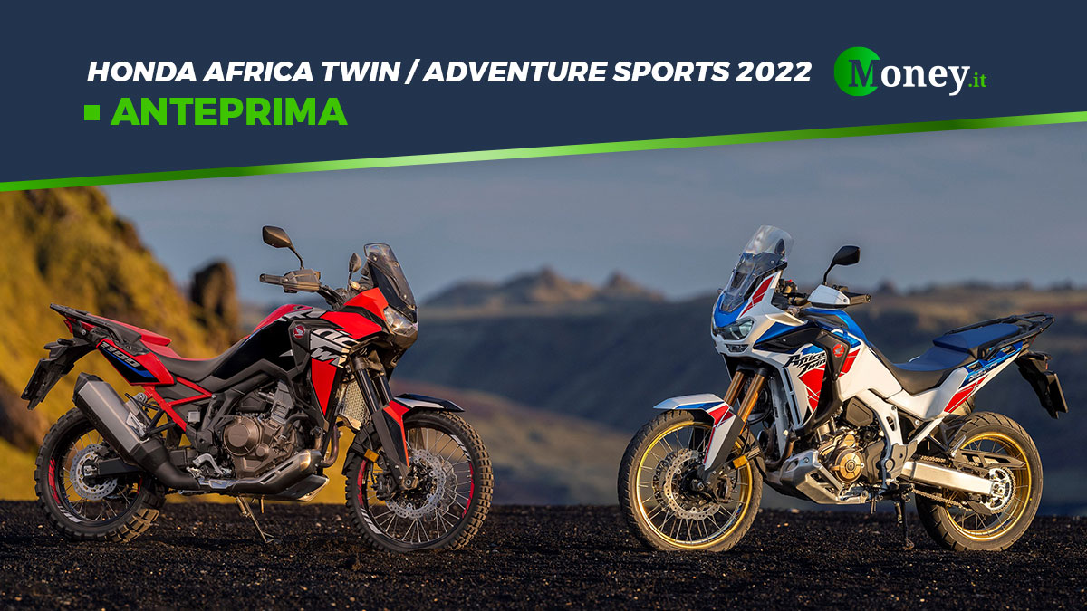 Honda Africa Twin e Africa Twin Adventure Sports: aggiornamenti 2022 [Foto]