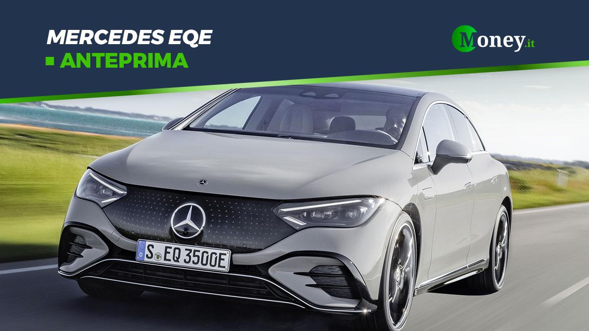 Nuova EQE: la berlina elettrica firmata Mercedes-EQ