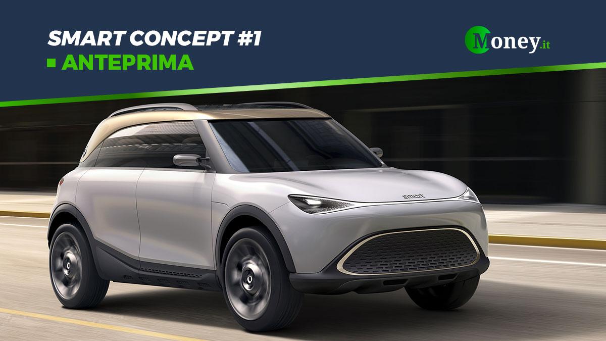 smart Concept #1: anteprima del futuro SUV elettrico
