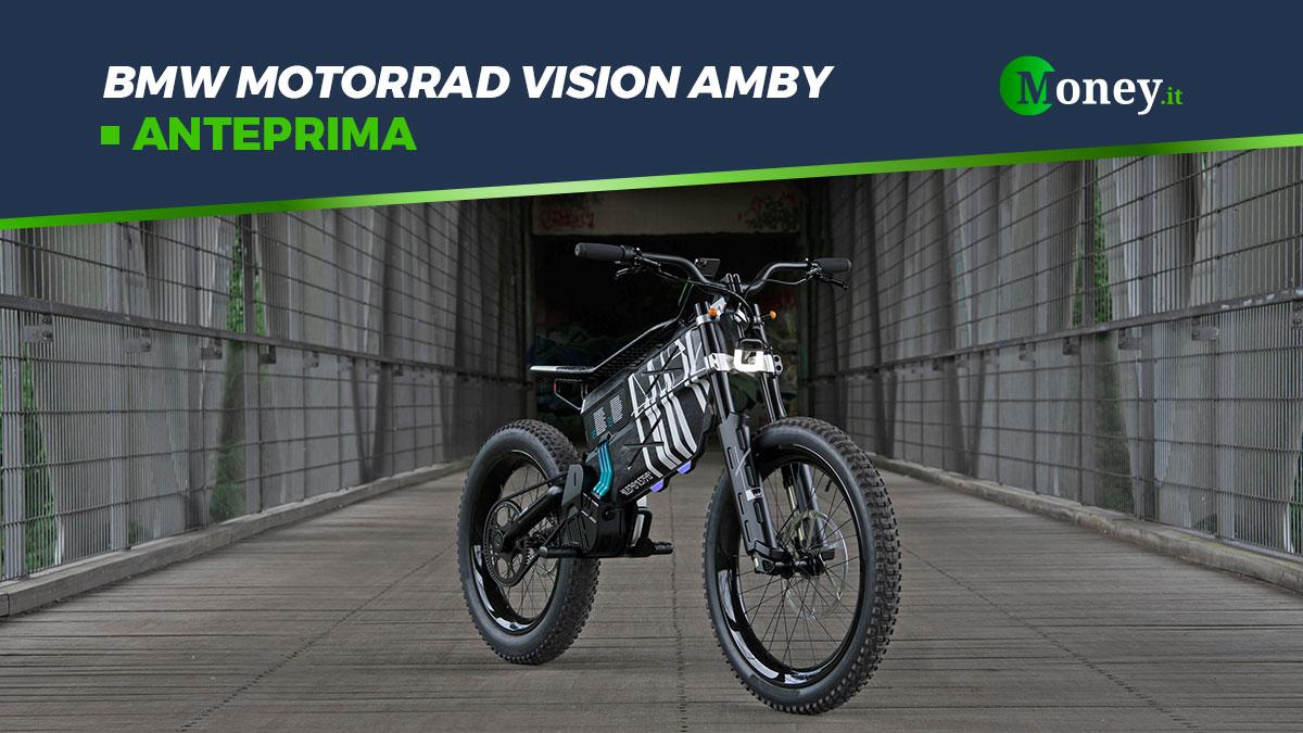 BMW Motorrad Vision Amby: motore, autonomia e foto
