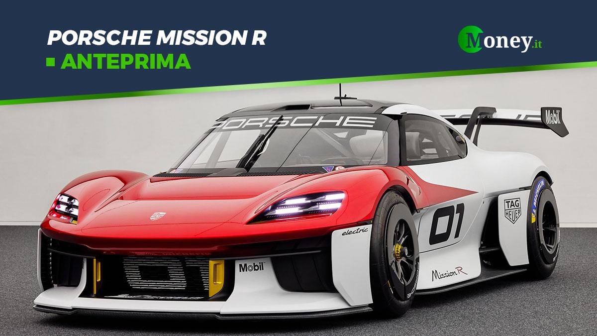 Porsche Mission R: la concept car elettrica