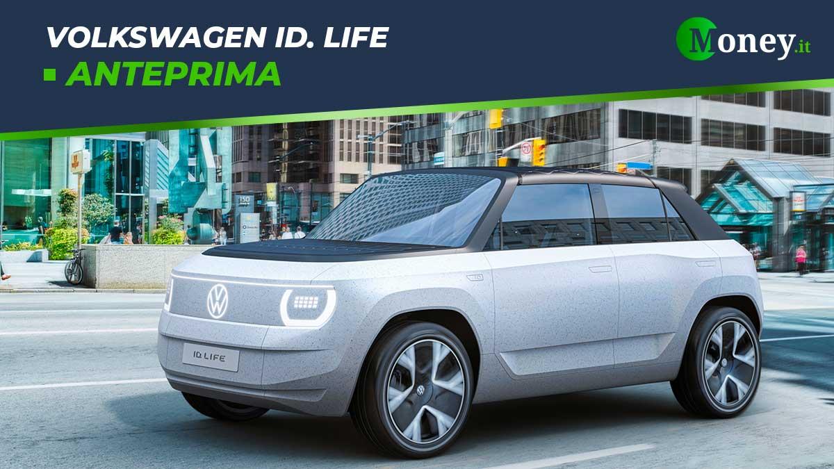 Volkswagen ID. Life: il crossover elettrico sostenibile