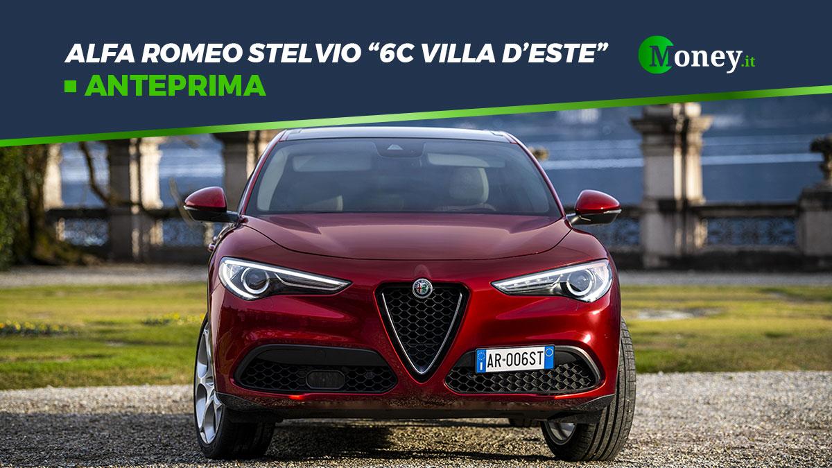 Alfa Romeo Stelvio 6C Villa d'Este: motore, prezzo, foto