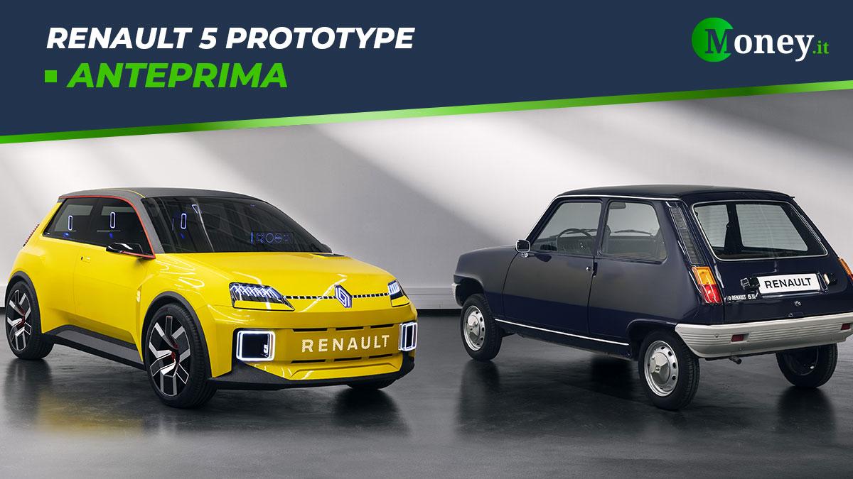 Renault 5 Prototype: arriverà nel 2024 la R5 elettrica