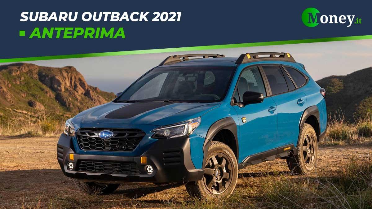 Subaru Outback 2021: il crossover da 5 stelle Euro NCAP