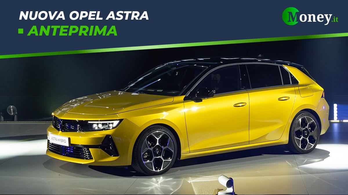 Nuova Opel Astra: dimensioni, prezzi, motori e foto