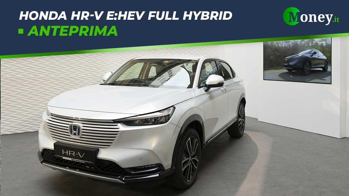 Honda HR-V e:HEV Full Hybrid: anteprima nazionale alla Milano Design Week