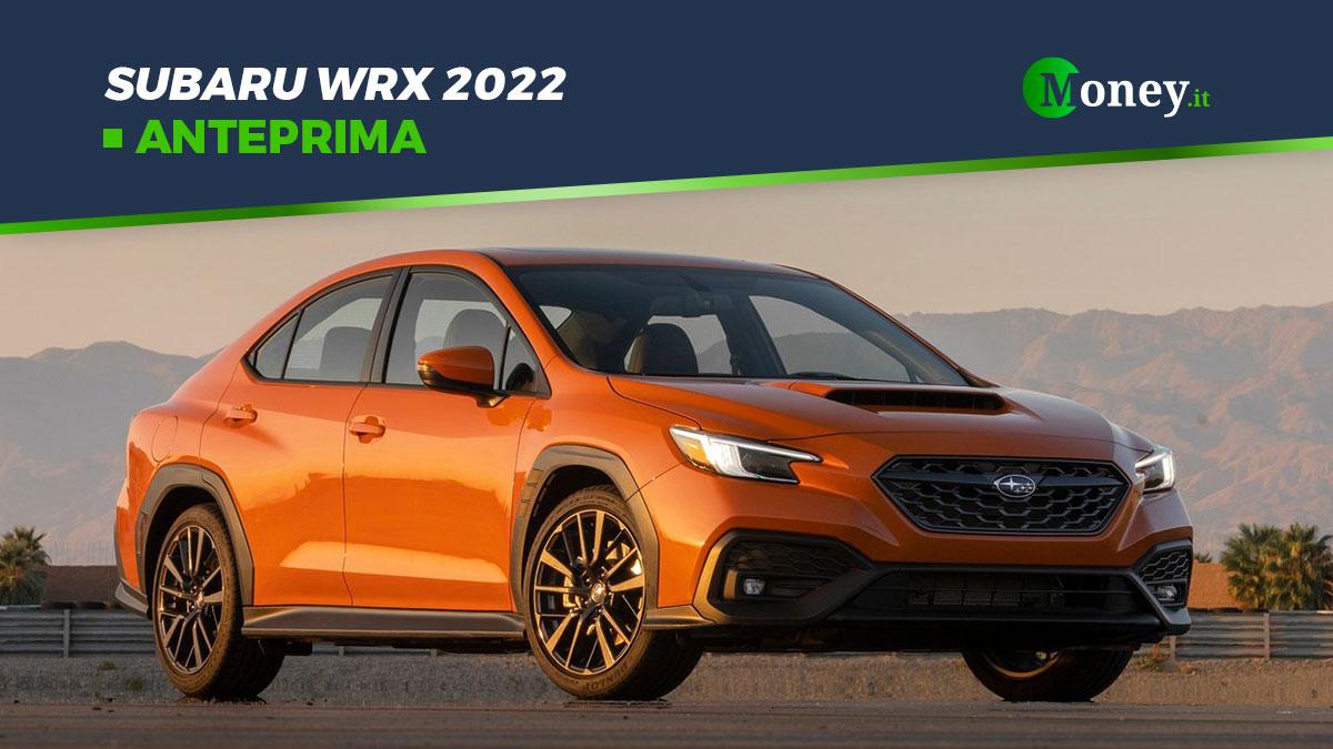 Subaru WRX 2022: motore boxer turbo per la berlina giapponese