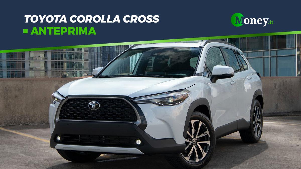 Toyota Corolla Cross: motore e allestimenti del nuovo SUV compatto [Foto]