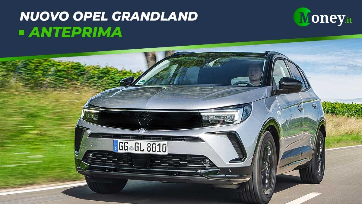 Nuovo Opel Grandland: svelati prezzi, motori e allestimenti
