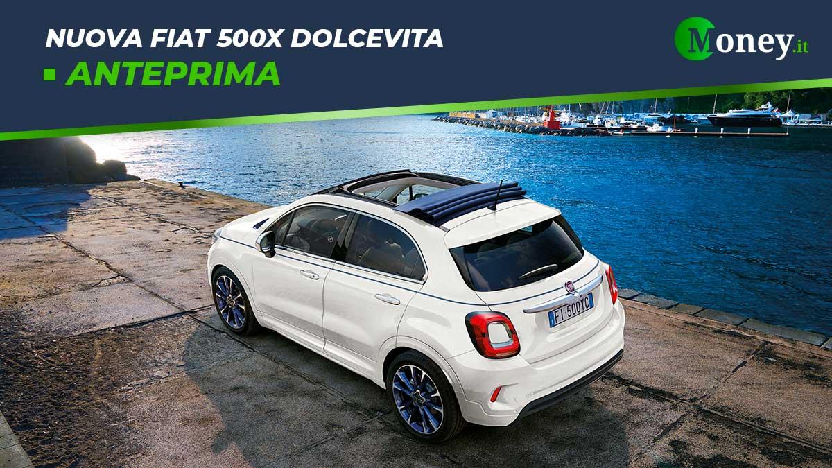Nuova Fiat 500X Dolcevita: capote soft top per Cross e Sport