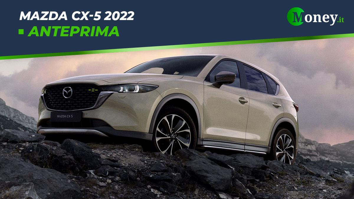 Mazda CX-5 2022: tre nuovi allestimenti per il SUV premium