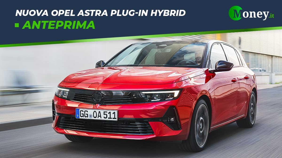 Nuova Opel Astra Plug-In Hybrid: motore, prestazioni, foto