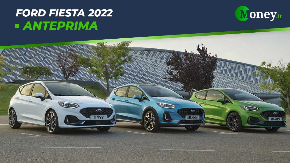 Ford Fiesta 2022: nuovi allestimenti e motori ibridi [Foto]