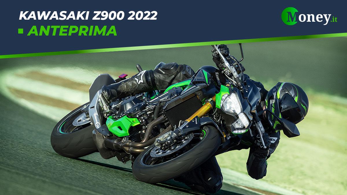 Kawasaki Z900 2022: motore, prestazioni, foto