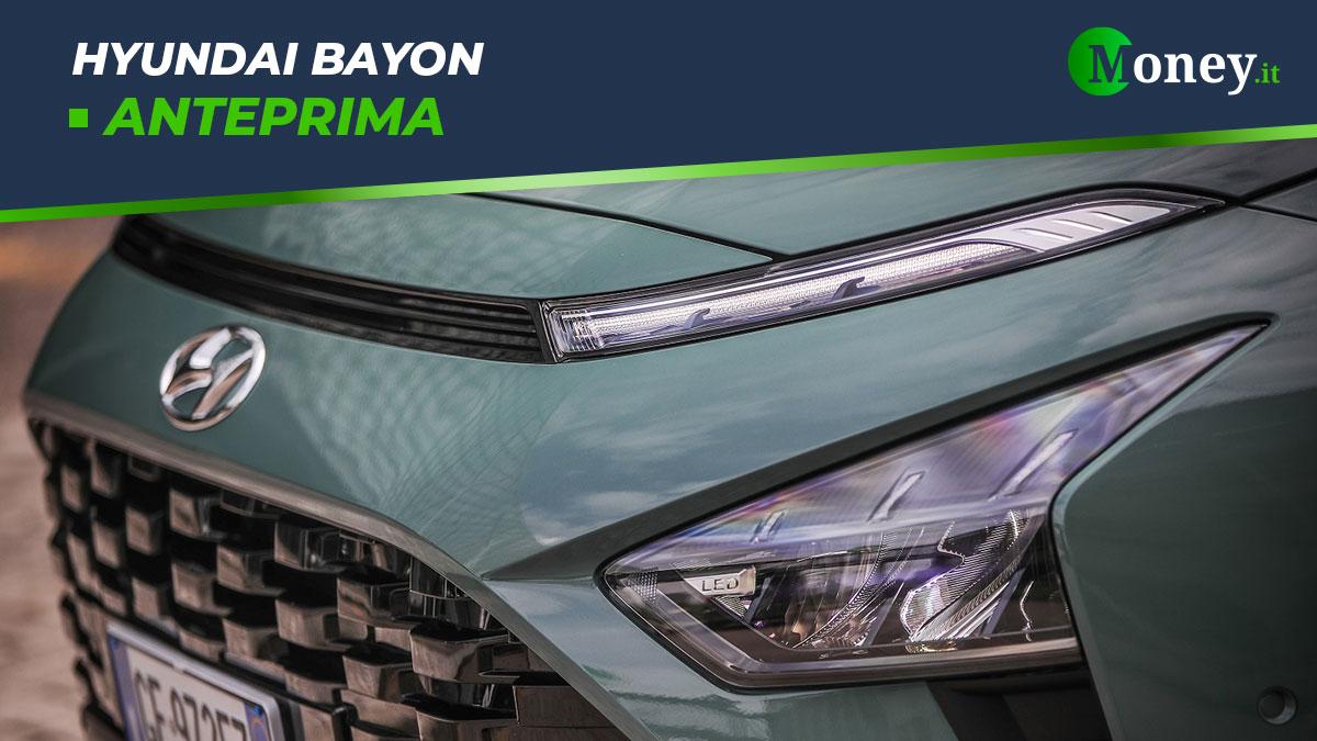 Hyundai Bayon: prezzi e allestimenti del SUV compatto [Foto]