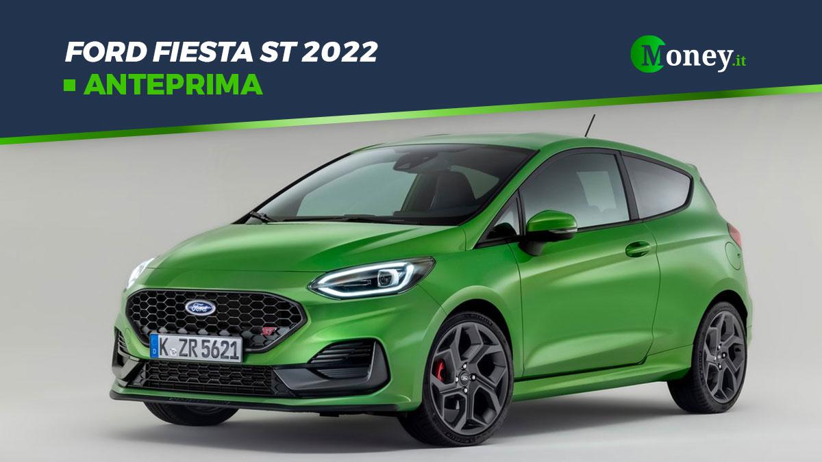 Ford Fiesta ST 2022: motore, prestazioni, foto