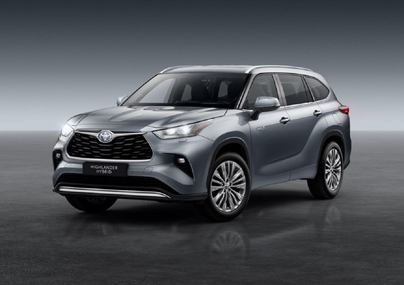 La nuova Toyota Highlander arriverà in Europa nel 2021