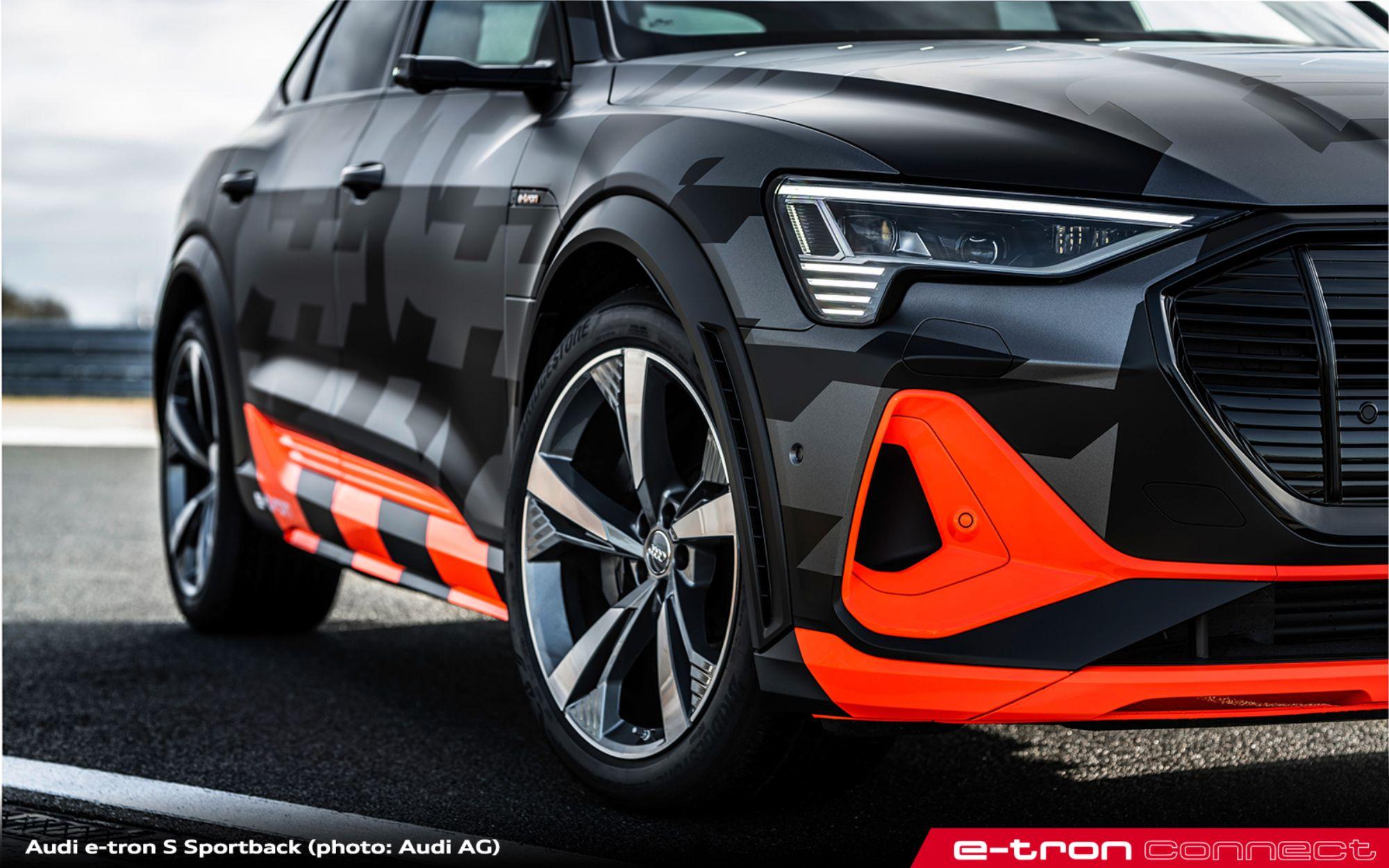 Audi e-tron S e e-tron S Sportback: tre motori e più potenza