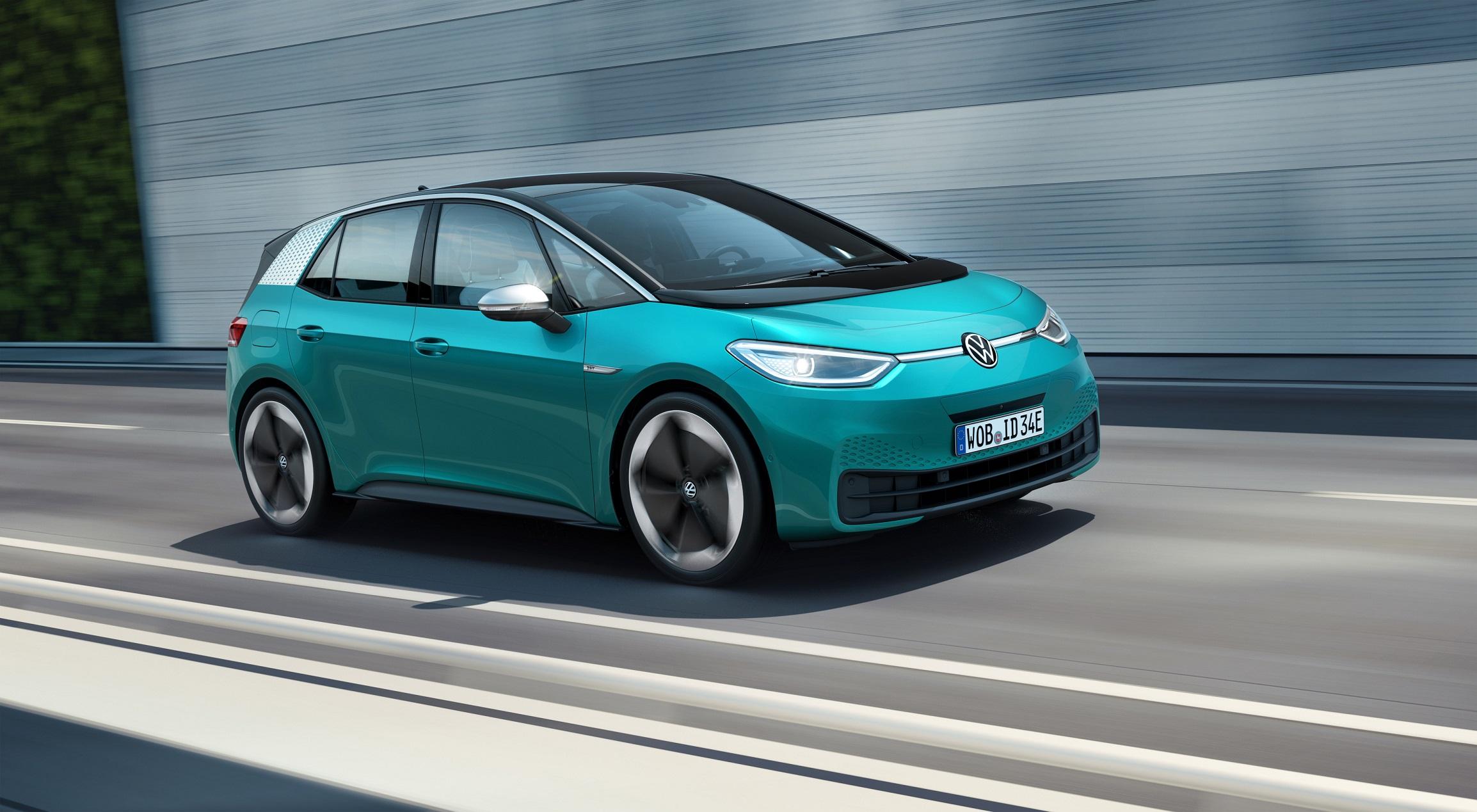 Volkswagen ID.3: prezzo, design, caratteristiche, scheda tecnica (FOTO)