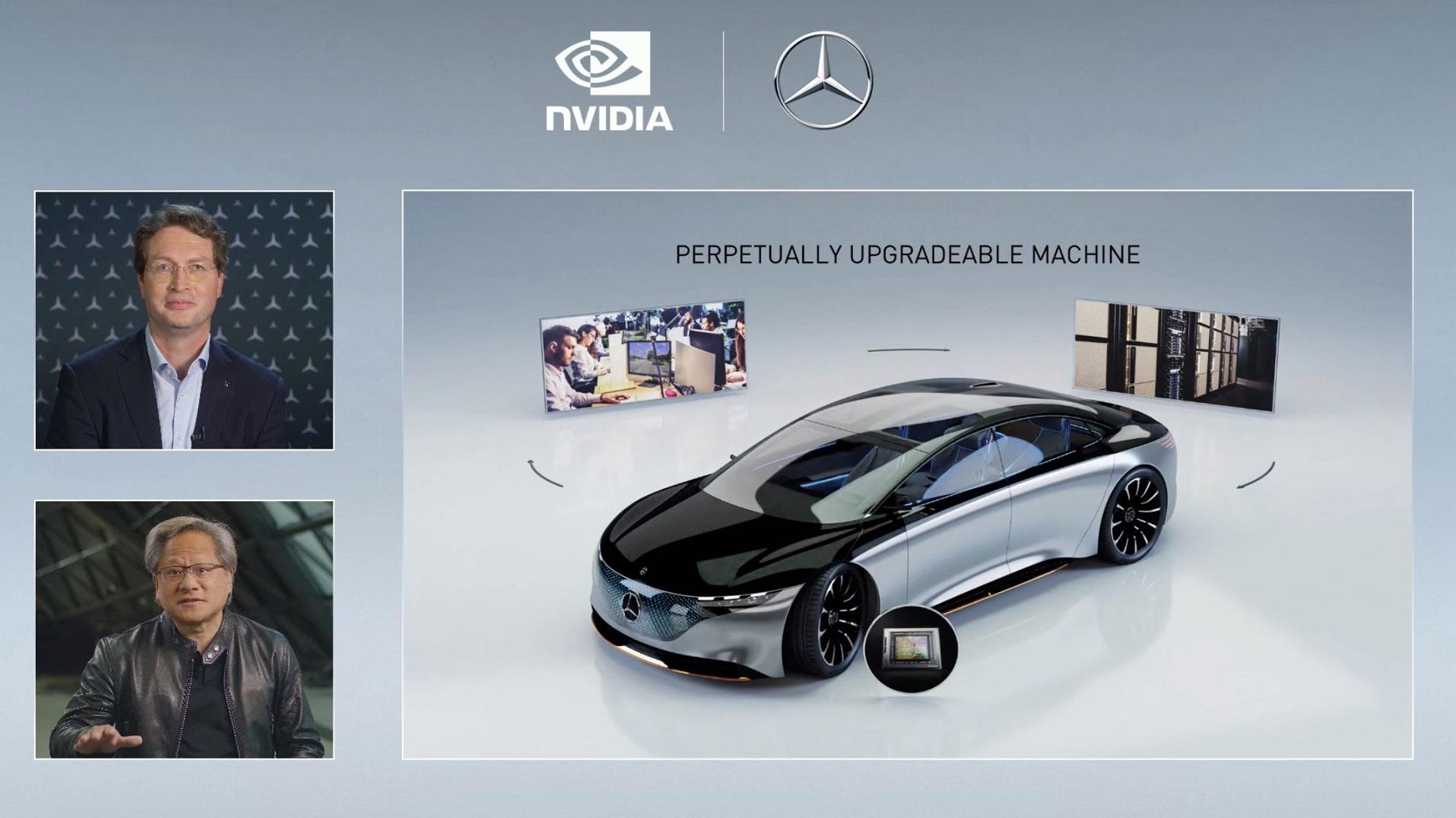 Mercedes e NVIDIA annunciano importante accordo