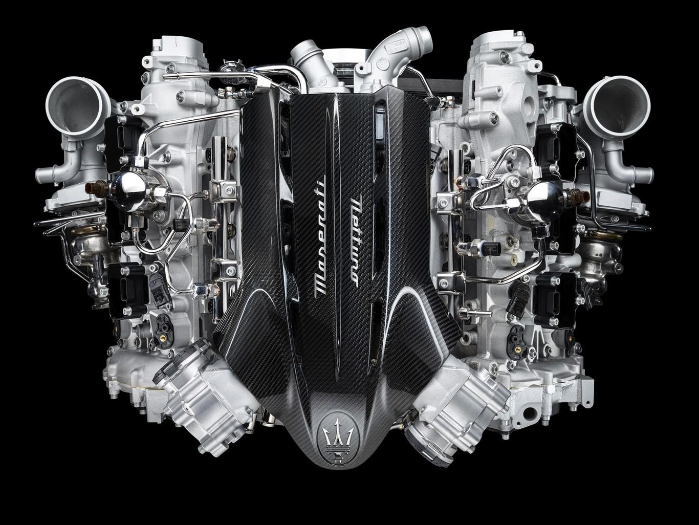 Maserati Nettuno è il nome del nuovo motore della MC20