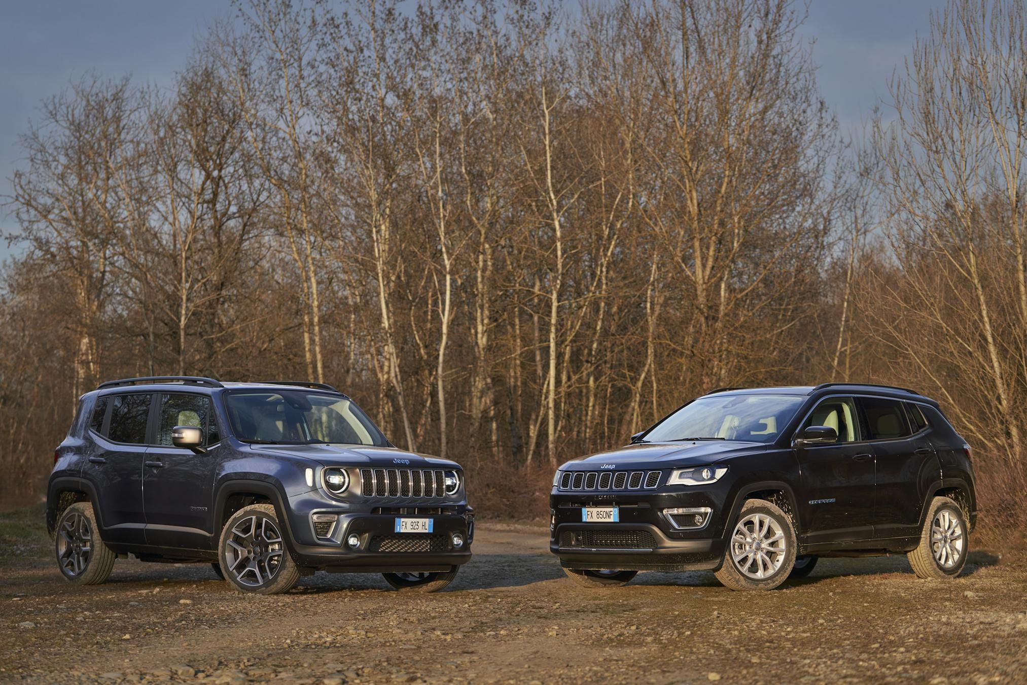Jeep Renegade e Compass 4xe: al via gli ordini per i suv ibridi plug-in (scheda tecnica, prezzi, foto)