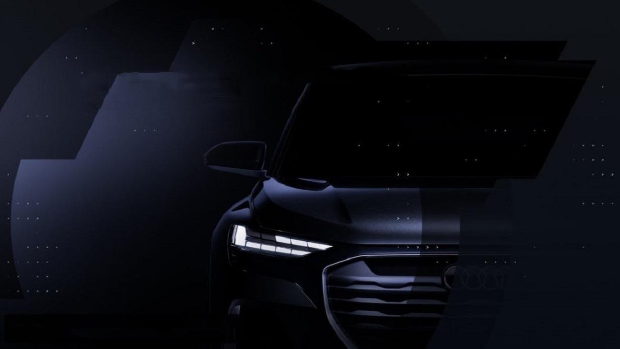 Audi Q4 Sportback e-tron: ecco la prima immagine