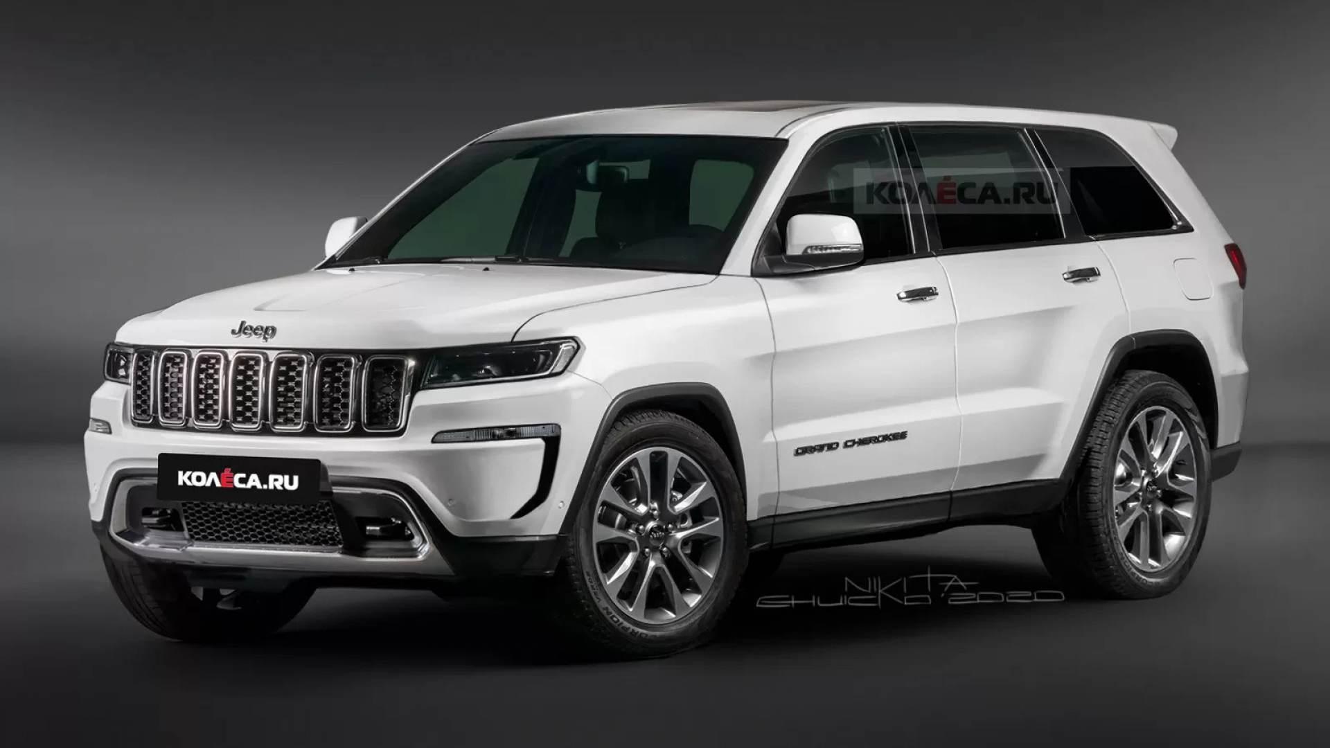Nuova Jeep Grand Cherokee: il suo design sarà questo?