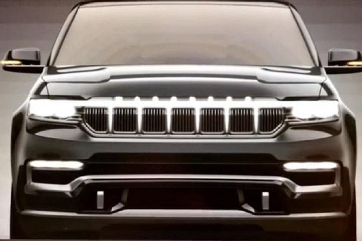 Jeep Grand Wagoneer: colpisce la sua illuminazione