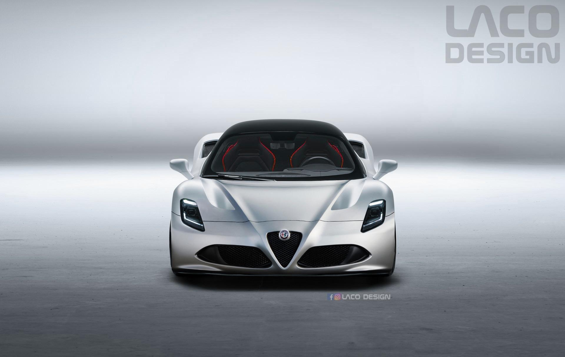 Alfa Romeo 8C sarà la versione del Biscione di Maserati MC20?