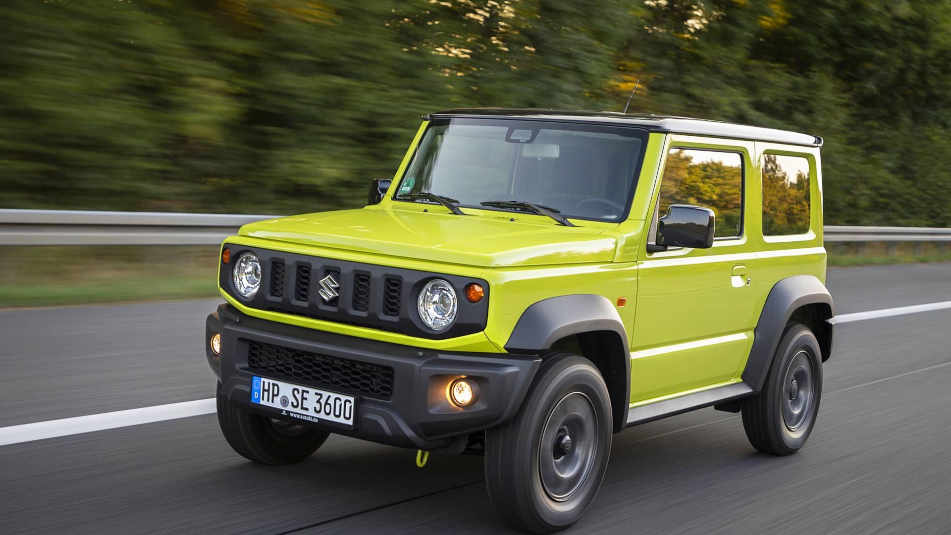 Suzuki Jimny ibrido: possibile il suo arrivo in Europa