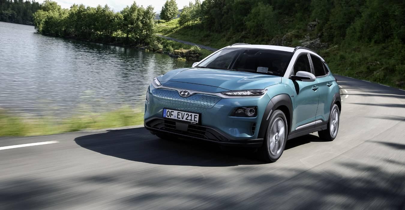 Hyundai Kona EV a rischio incendio: maxi richiamo