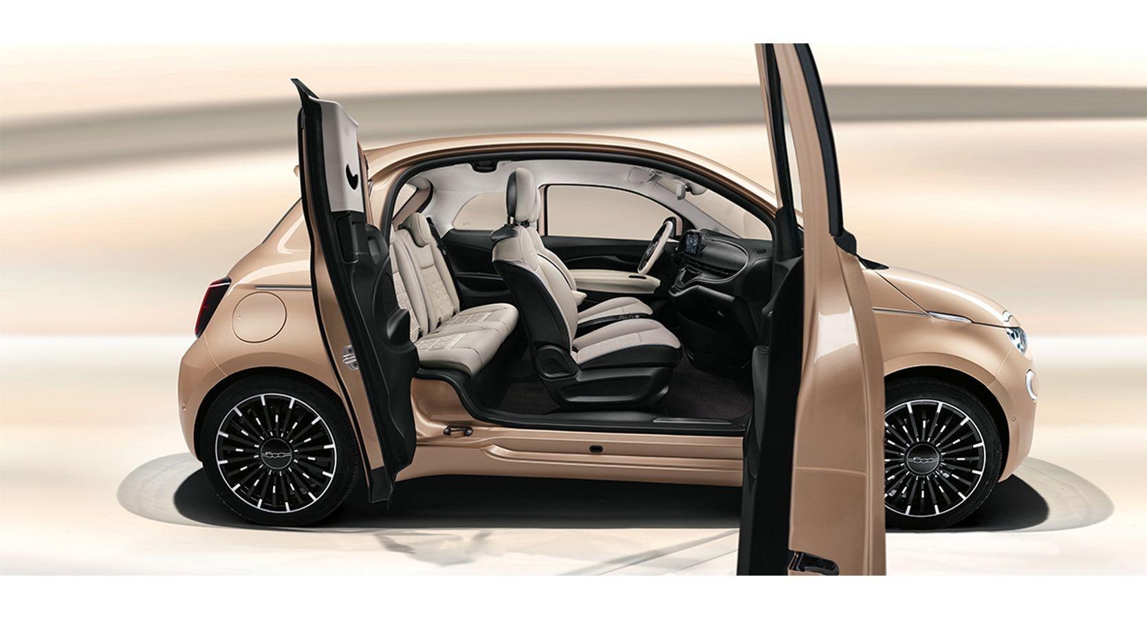Fiat 500 3+1 ufficialmente svelata: le immagini
