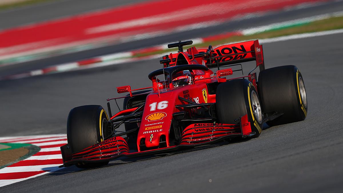 Ferrari testa oggi il nuovo fondo piatto per il 2021