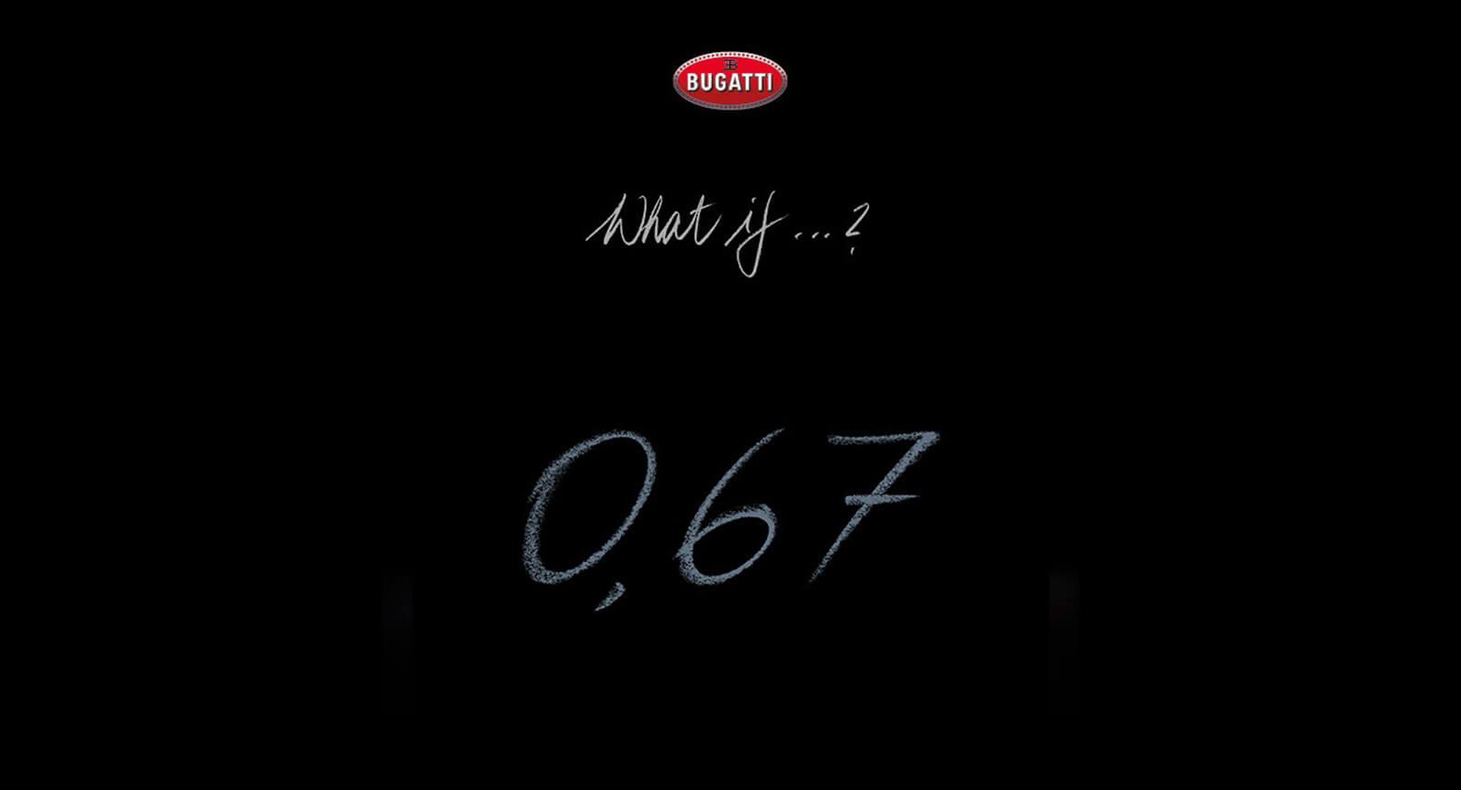 Bugatti: un misterioso modello sta per debuttare