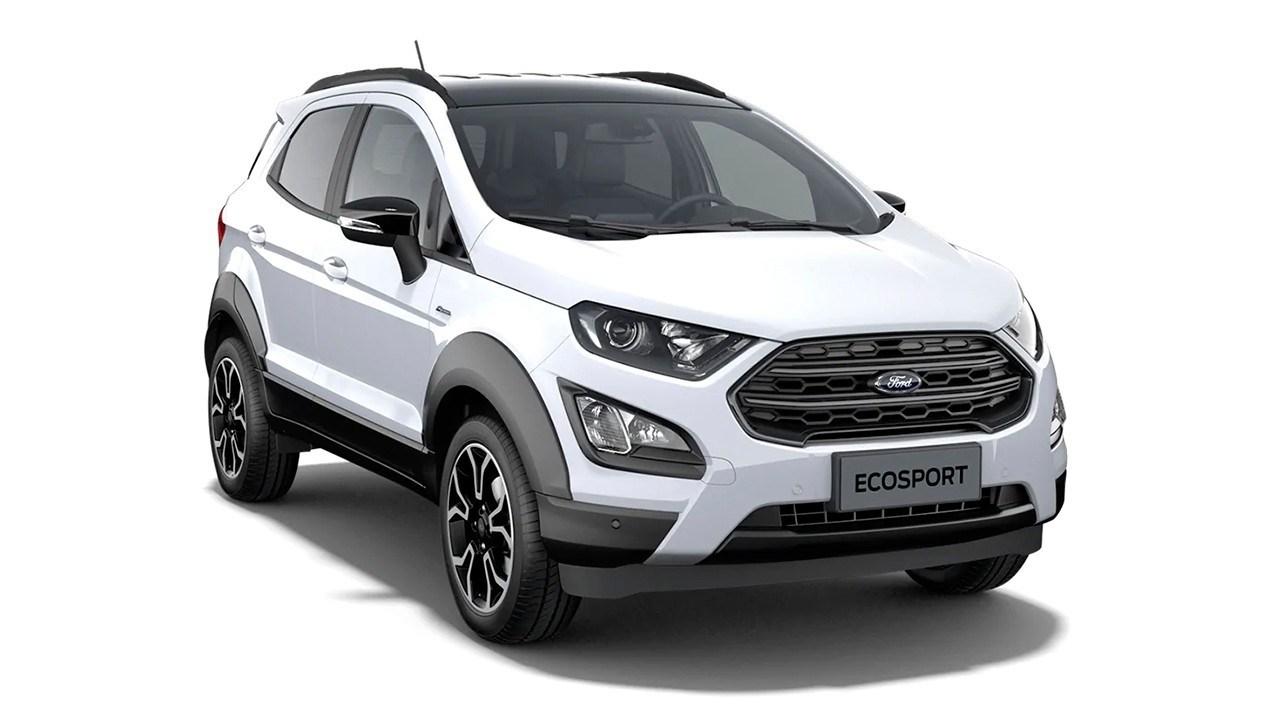Nuova Ford EcoSport Active: ecco le prime immagini