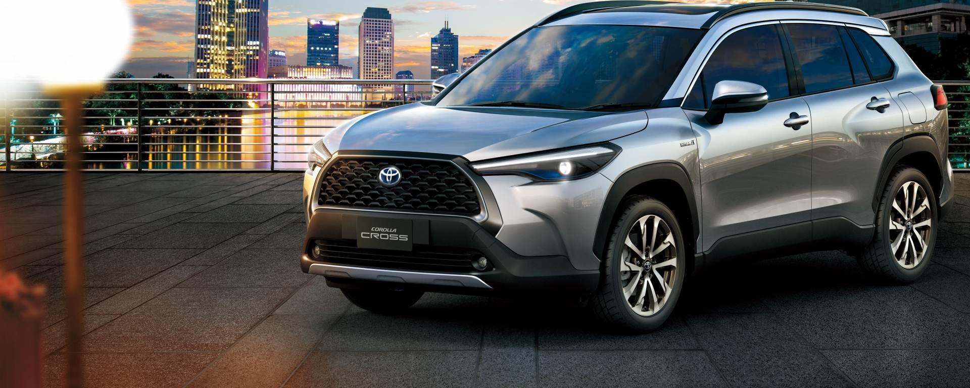 Toyota Corolla Cross: il SUV debutta in Europa nel 2021