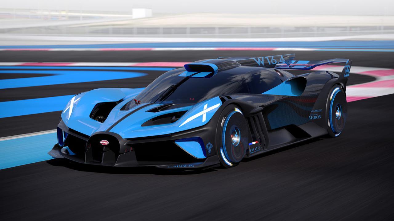 Bugatti Bolide: la supercar da 1.850 cavalli