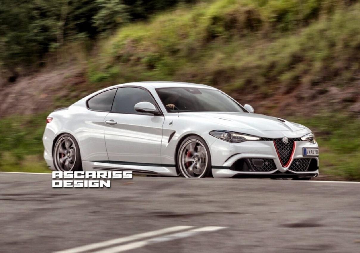 Alfa Romeo Giulia Coupe: ecco come potrebbe essere