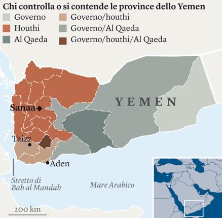 Cartina Yemen.Guerra Tra Arabia Saudita E Yemen Perche Nessuno Parla Di Questa Tragedia