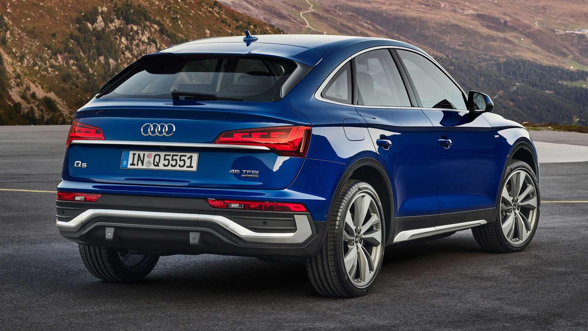 La nuova Audi Q5 Sportback è stata svelata: foto e novità