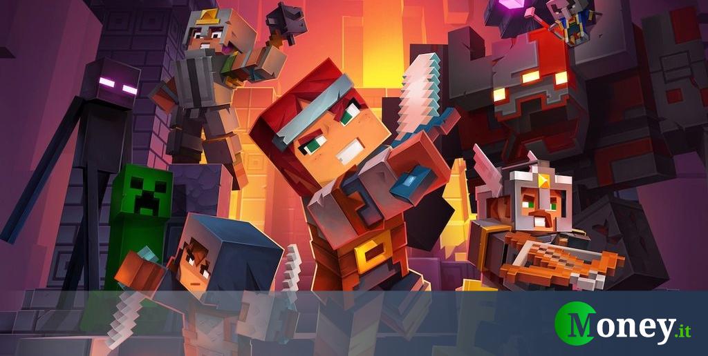 Minecraft Dungeons, la data di uscita e le piattaforme su cui arriverà