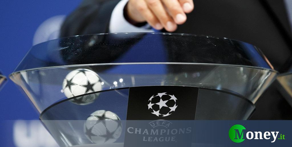 Sorteggi Champions League, ottavi di finale in diretta streaming ...