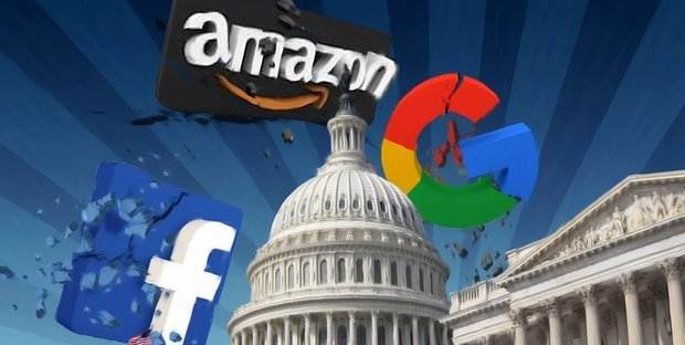 USA, le mail dei CEO di Google, Amazon, Facebook e Apple sotto la lente dell'Antitrust