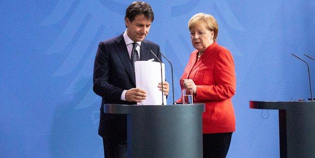 Che cosa si sono detti Merkel e Conte