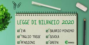 Legge di Bilancio 2020: cosa prevede? Novità e testo della finanziaria