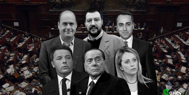 Sondaggi politici: vola il PD, giù Salvini e la Meloni