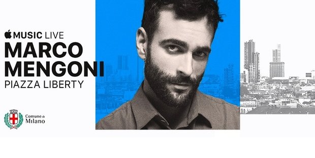 Mengoni inaugura Apple Music Live