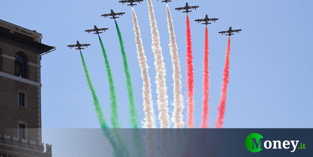 Frecce Tricolori Roma 2 giugno 2020: orario e come vederle